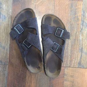 Men's soft leather Birkenstock